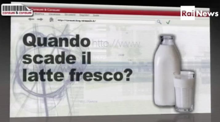 video latte spreco