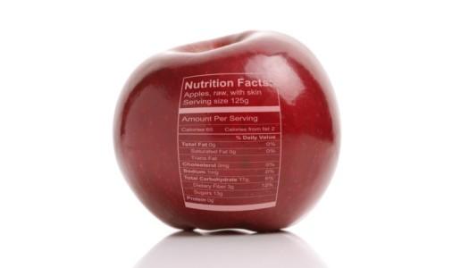 mela etichetta