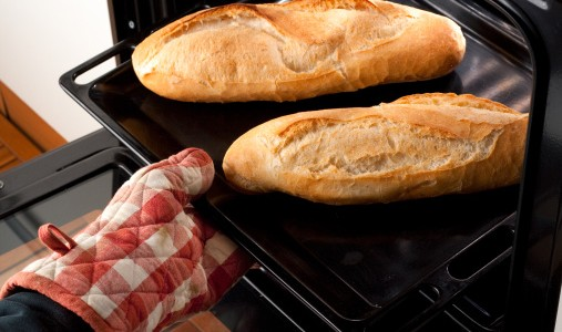 forno teglia pane