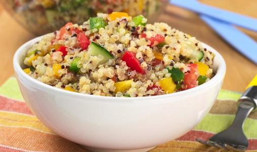 Piatto freddo quinoa