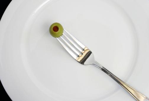 piatto vuoto dieta digiuno