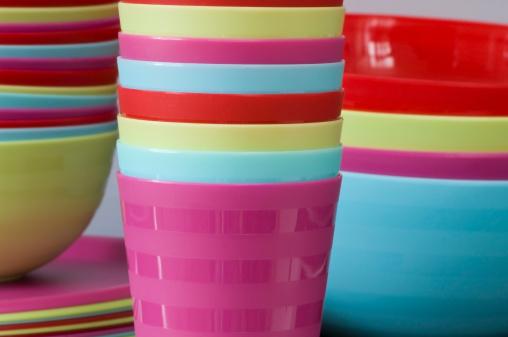 ciotole bicchieri melamina plastica