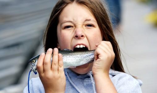 pesce bambina