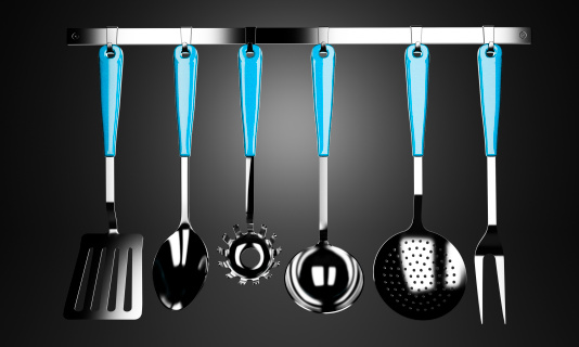 utensili mestolo cucina