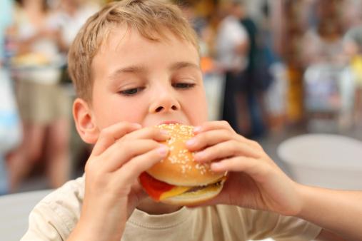 fast food bambini