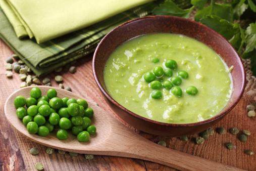 zuppa legumi piselli