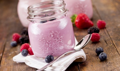 yogurt frutti di bosco