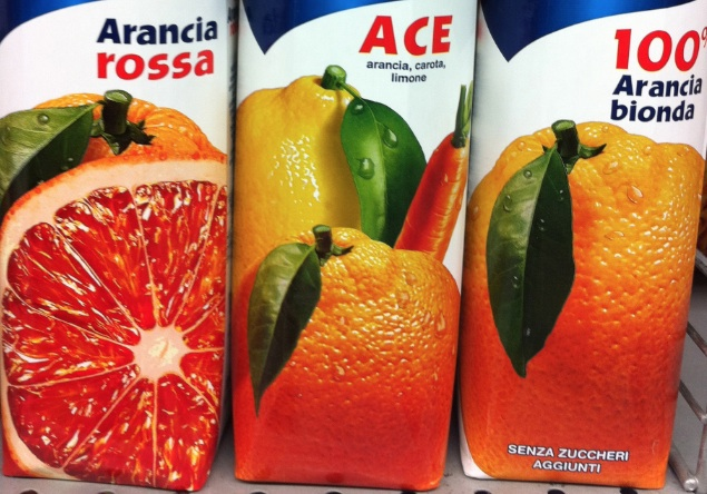 ace arance succo