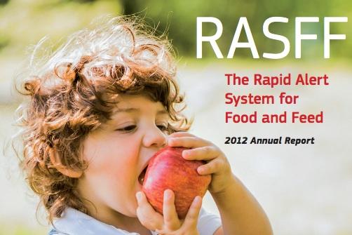 copertina rapporto rasff 2012