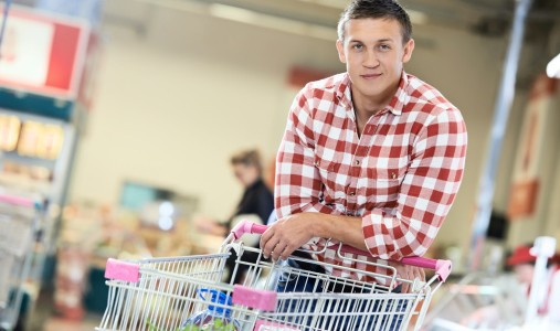 supermercato uomo