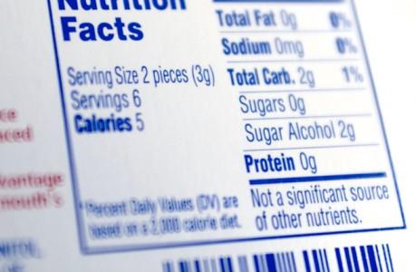 nuove etichette nutrizionali più chiare e complete, gli americani le