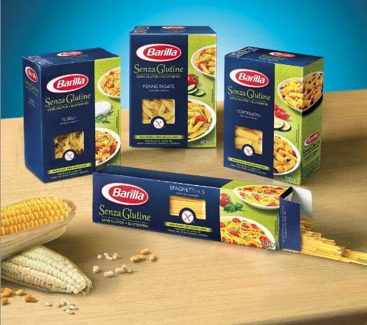 Barilla in arrivo la pasta senza glutine prezzo for Da dove proviene il grano della barilla