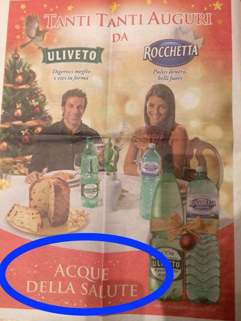 Uliveto pubblicita dicembre 2013