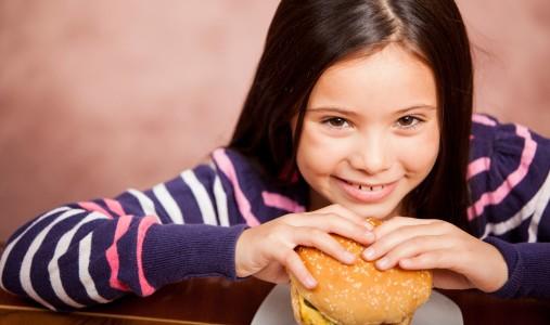 bambina junk food