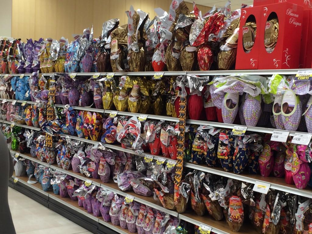 uova di Pasqua prezzi cioccolato