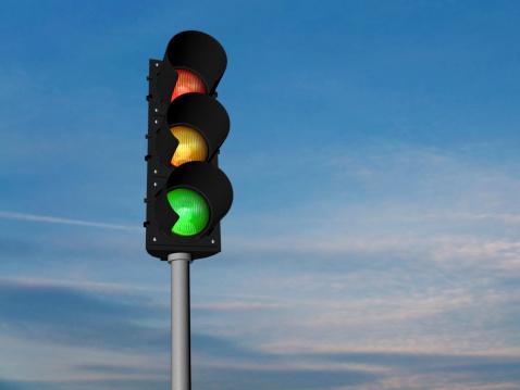semafori in etichetta