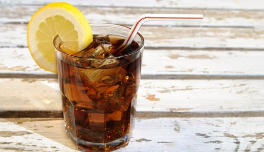 Refreshing Glass Of Cola