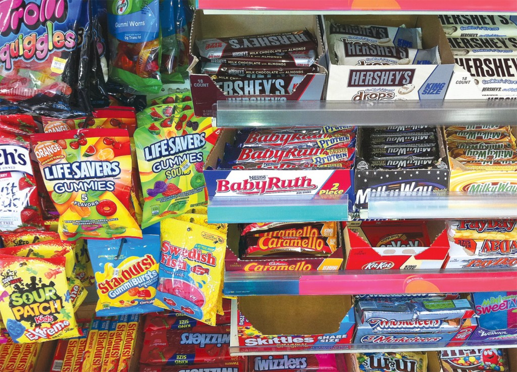 supermercati casse snack
