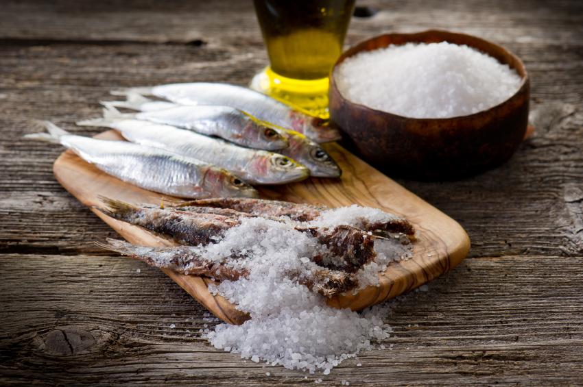 pesce sotto sale