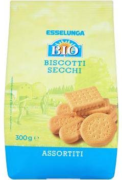 esselunga biscotti secchi