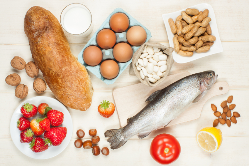 Allergie cibo allergeni