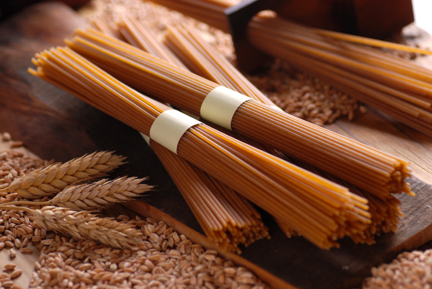 spaghetti pasta integrale grano