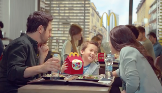 pubblicita mcdonalds happy meal