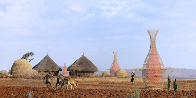 etiopia villaggio