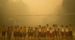 incendi fumo indonesia deforestazione