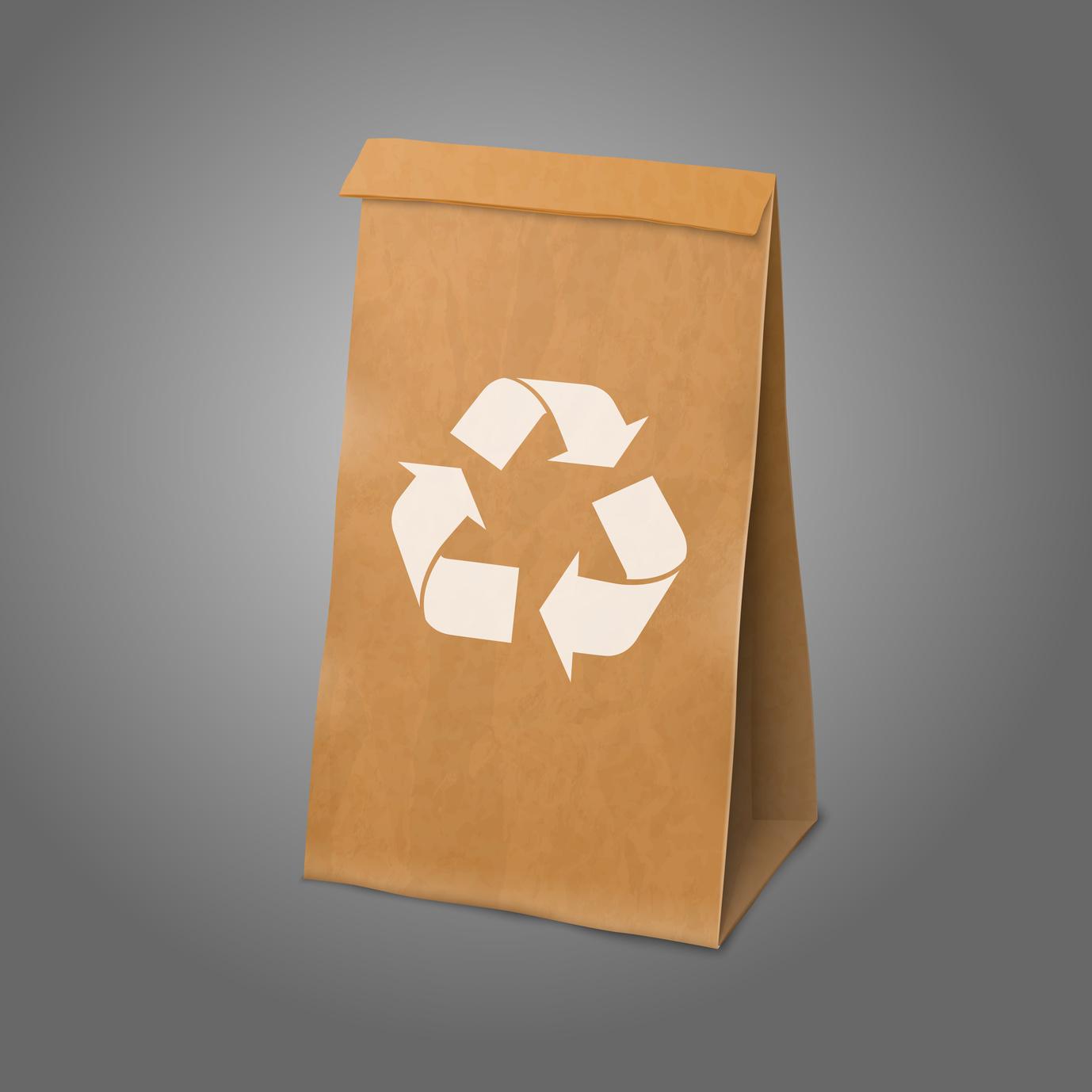 packaging, sacchetto di carta