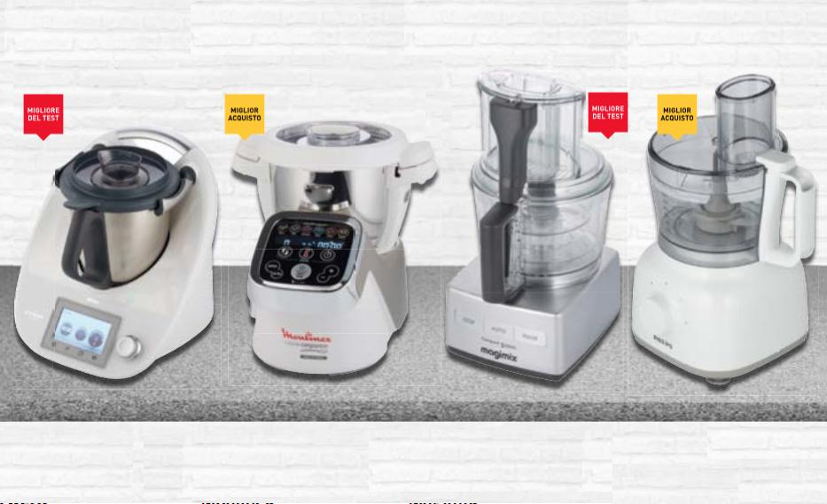 Bimby re dei robot da cucina. La classifica di Altroconsumo