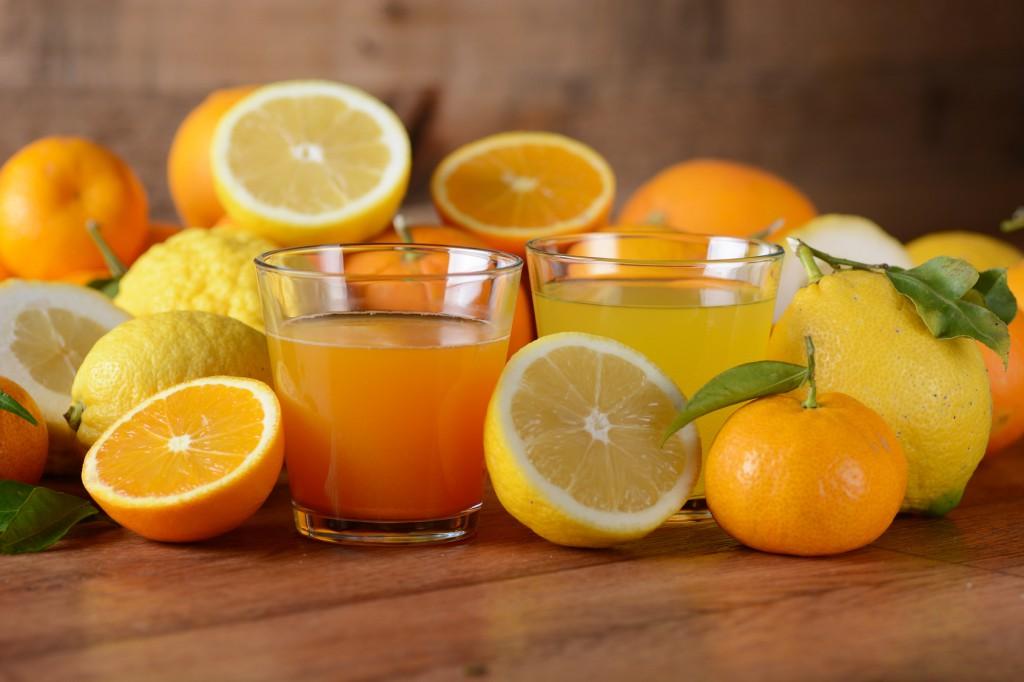 Vitamina C, agrumi e succhi