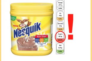 nesquik etichetta semaforo zuccheri uk