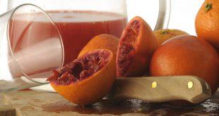 Spremuta d arancia bucce pastazzo
