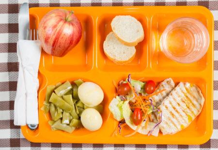 vassoio mensa scolastica School lunch tray