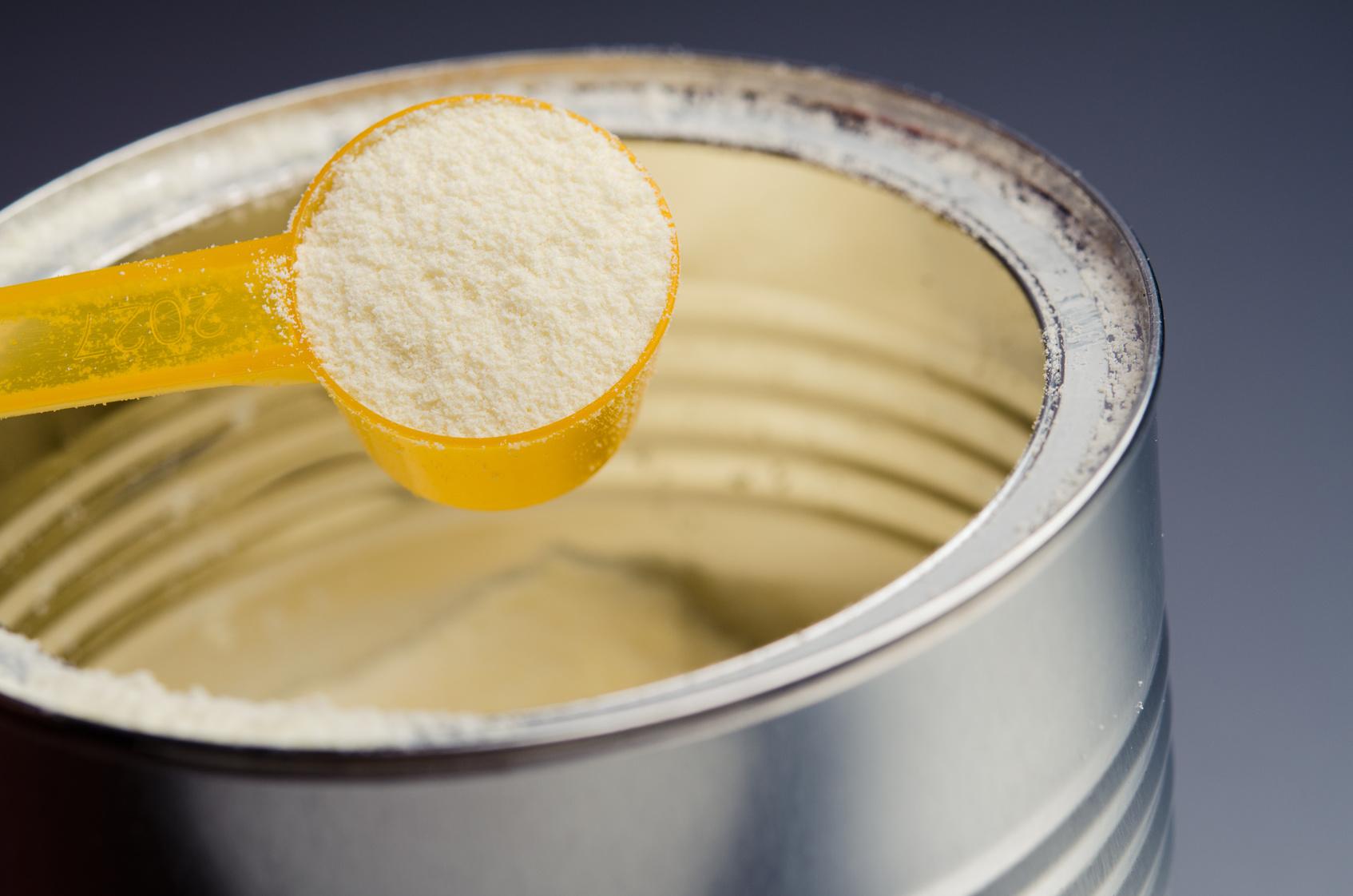 latte in polvere neonato acido palmitico