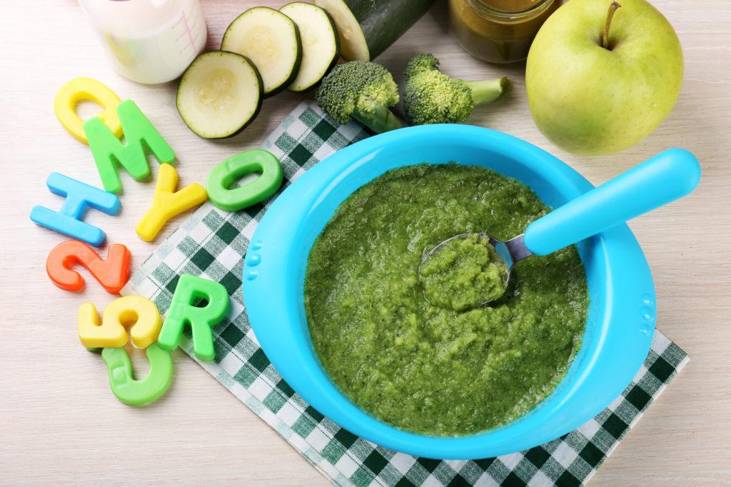 pappa bambini omogeneizzato broccoli Autosvezzamento