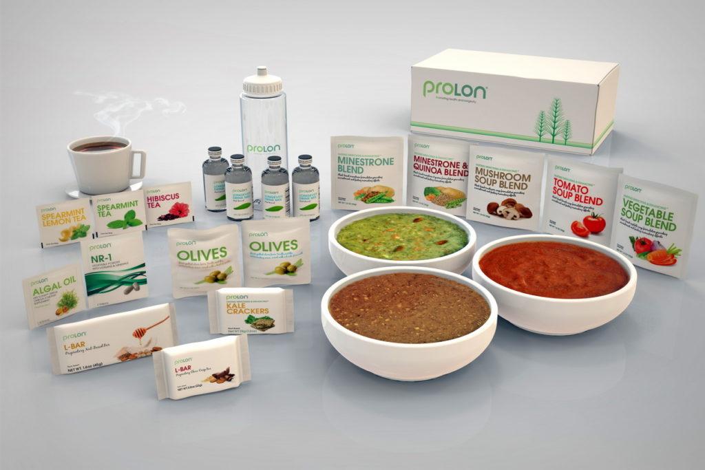 terceira intervenção para a publicidade do regime alimentar ProLon 6