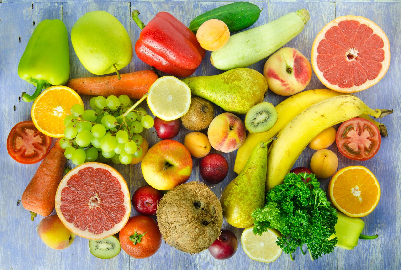 Frutta e verdura in italia solo 11 9 consuma le 5 porzioni - Immagine di frutta e verdura ...