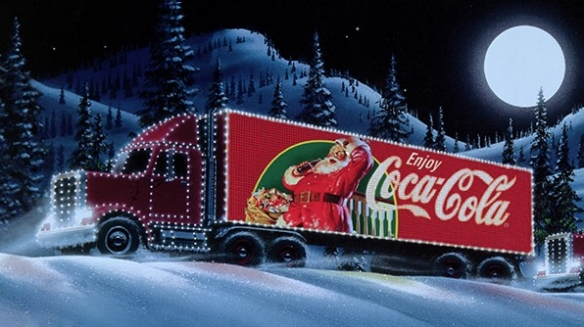 Coca-Cola Christmas Truck Tour