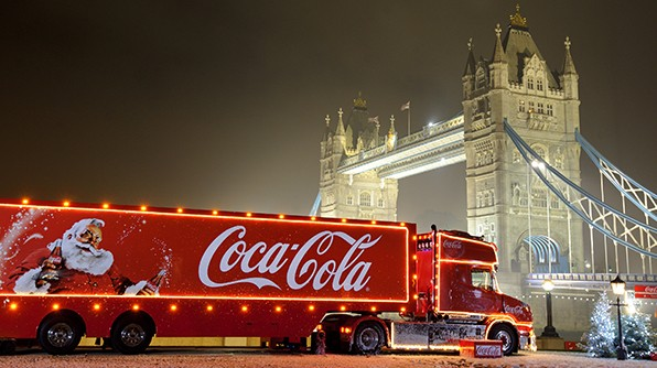 Coca-Cola Christmas Truck Tour1