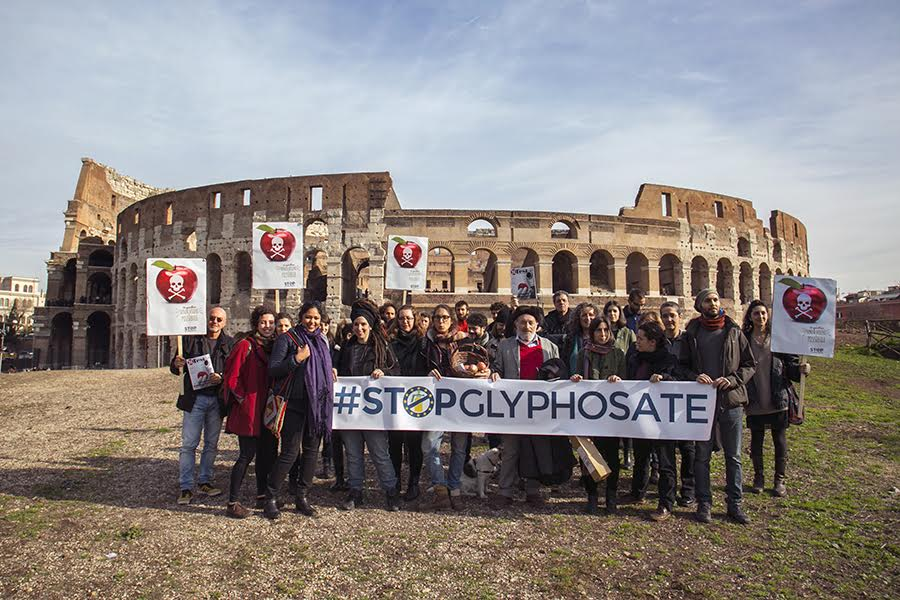 Risultati immagini per Stop al glifosato