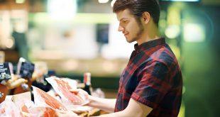 scelta alimenti supermercato