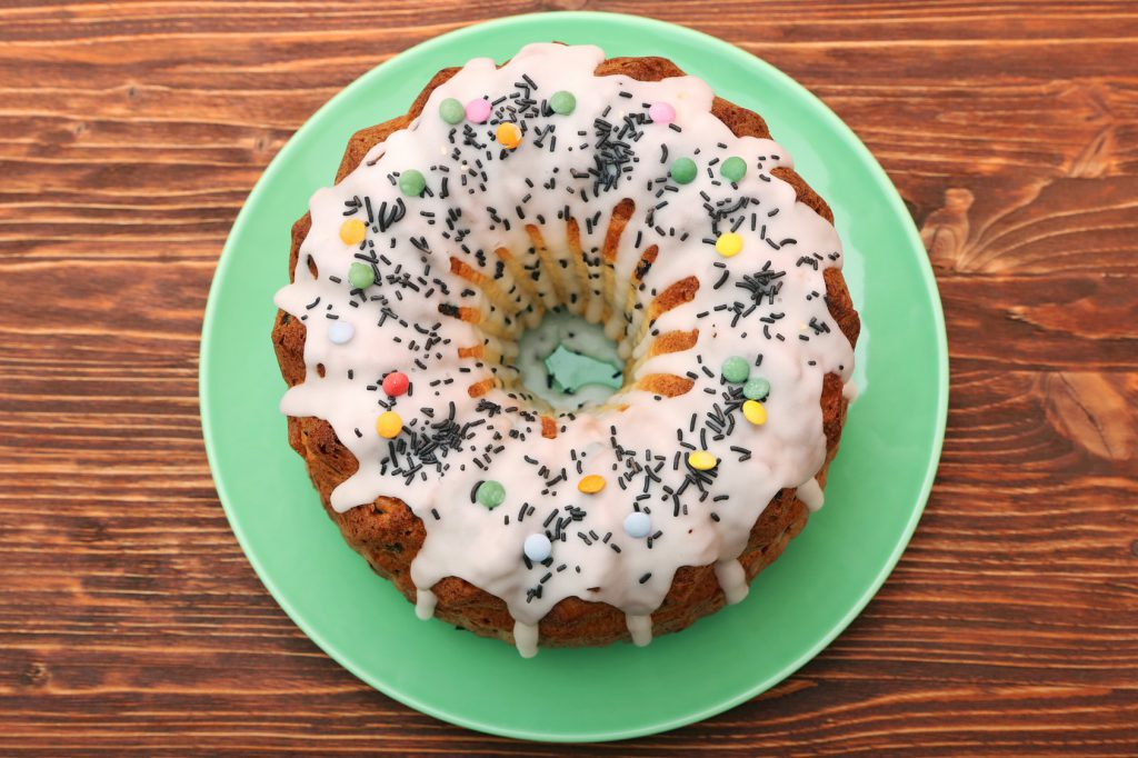 torta glassa dolci biossido di titanio
