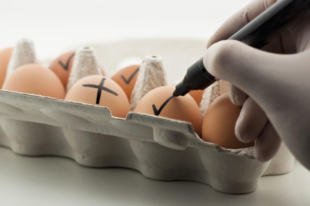 uova contaminate allerta