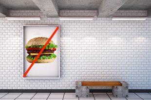 mockup billboard in the subway. 3d.