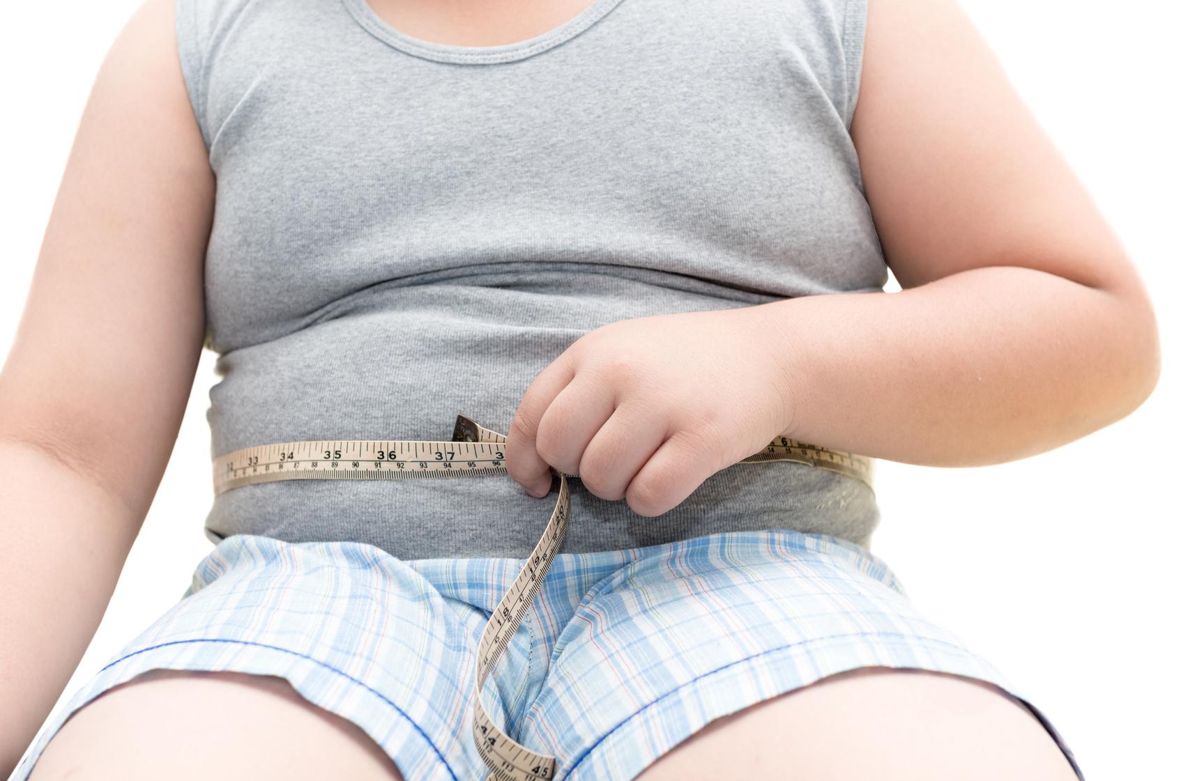 Yogurt, bambino sovrappeso metro