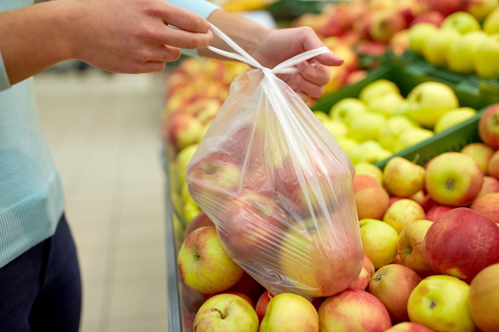 Sacchetti supermercato mater-bi