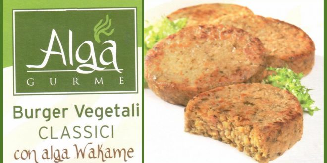 Alga Gurme burger vegetali classici 2018