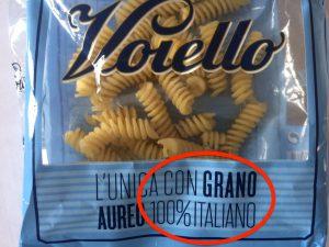 Pasta Barilla Voiello